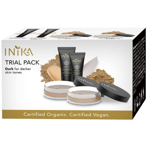 Inika Trial Pack Dark Tones - Boxed