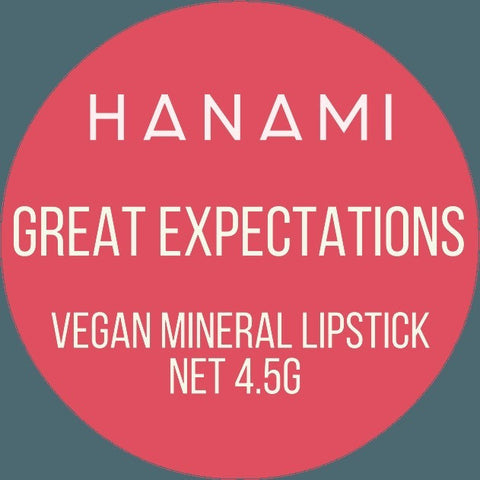 Hanami cosmetics - lipstick - Great expectations
