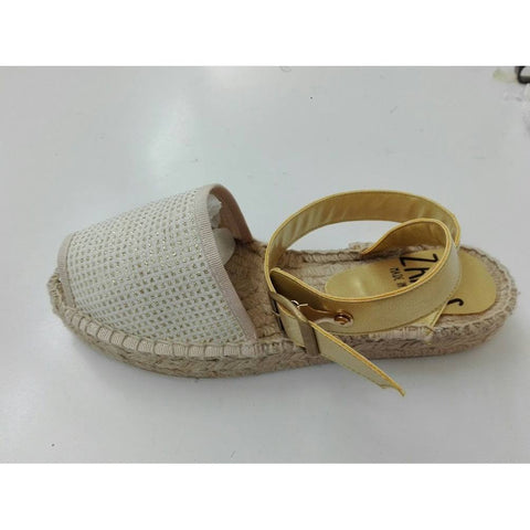 Zapas - Gold Sandals Espadrilles