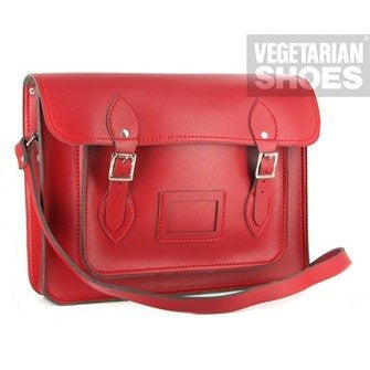 Vegetarian Shoes - Satchel (red) - Vegan Style