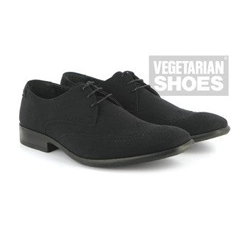 Vegetarian Shoes - 'Liam shoe' vegan (black) - Vegan Style
