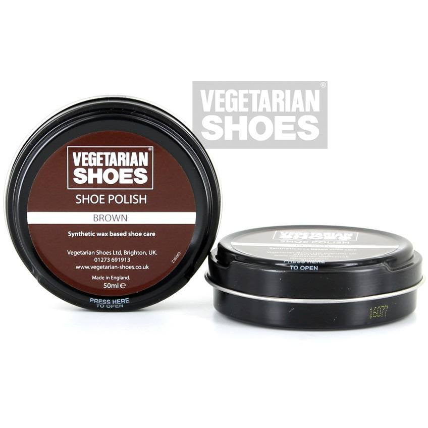Vegetarian Shoes - Vegan shoe polish - brown - Vegan Style