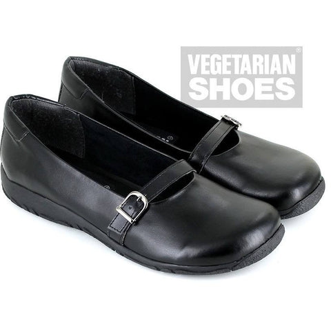 Vegetarian Shoes - Ally sandal (black)