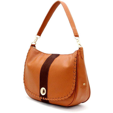 GUNAS - vegan handbags - 'Pony' (tan)