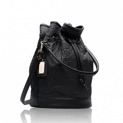 Alexandra K - Vegan 2.5 Pinatex Bucketbag (Blackberry) - Vegan Style