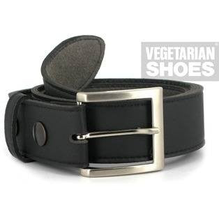 Vegetarian Shoes - 'Tanner Belt' (black) - vegan belt
