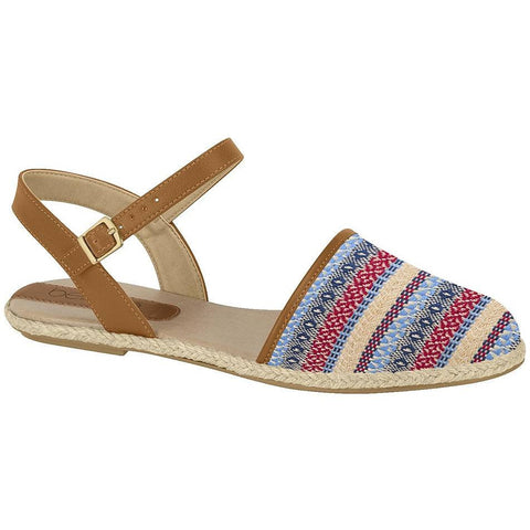 Beira Rio - canvas vegan sandals - multicolour