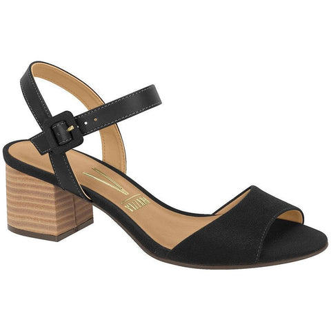 Vizzano - low-heeled sandals in black