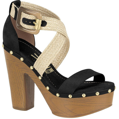 Vizzano - platforms, faux-suede upper and natural rope