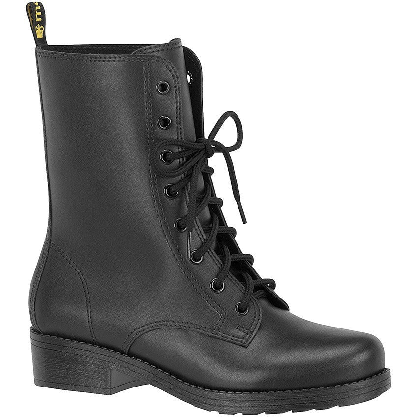 Moleca black vegan leather boots