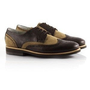 Julian (brown) brogue by Bourgeois Boheme