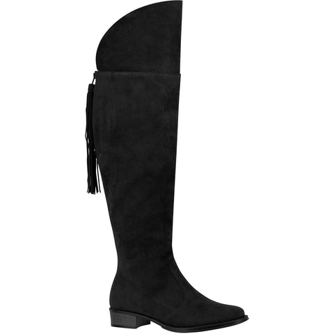 Low-heeled vegan boot by Biera Rio - Black