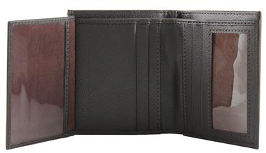'Kendrick' Bi-Fold Wallet by The Vegan Collection (Black or Brown)