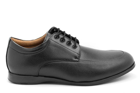 'James' men's wide-fit (EEE) vegan-leather shoe by Ahimsa - Vegan Style