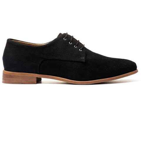 Ahimsa Women's Derby shoes - black