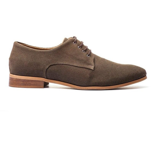 Ahimsa Women's Derby shoes - Espresso