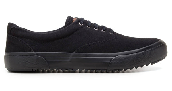 'Revenant' sneaker with vulcanised outsole by Brave Gentleman - black