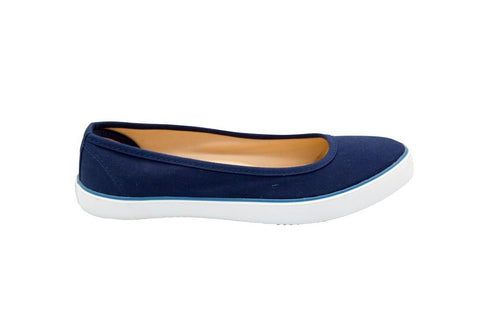 Vegan organic cotton ballet flats