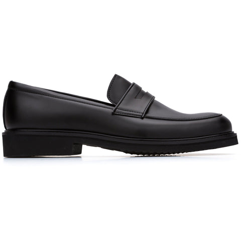 'Richard' Vegan Loafers by Bourgeois Boheme - Black