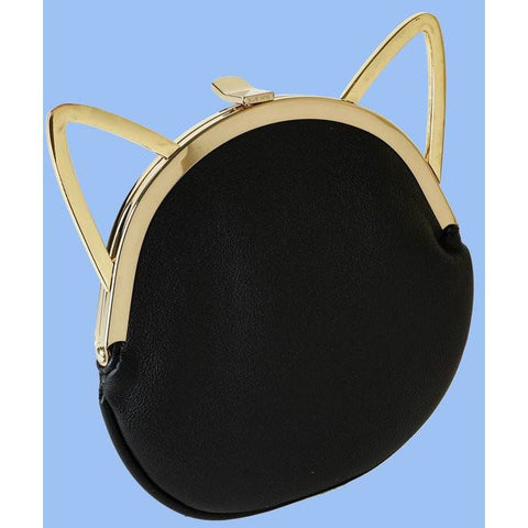 Leyla Yucel - Kiki Cat Purse (black) - Vegan Style