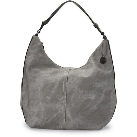 Thea-Theos 'Carrie' vegan handbag - acid steel