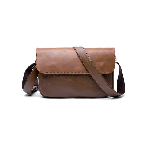 'Chuo' Crossbody Bag by Tokyo Bags - vintage brown