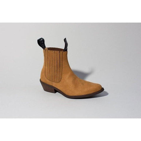 Good Guys 'Duke' ankle boot - mustard suede