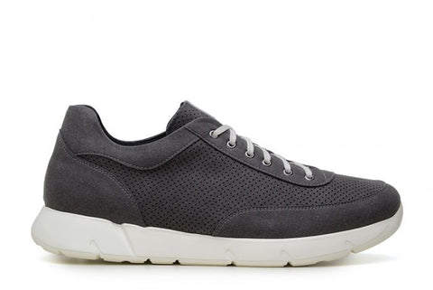 Danny Men's Vegan Sneaker by Ahimsa - Dark Grey
