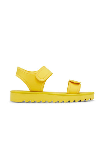 SUMMER // GINA  women's vegan sandal by Twoobs - yellow - Vegan Style
