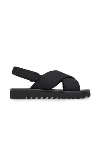 TEMA // RAY women's vegan sandal by Twoobs - black - Vegan Style