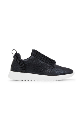 JORDON // ZAHRA women's vegan sneakers by TWOOBS - black metallic - Vegan Style