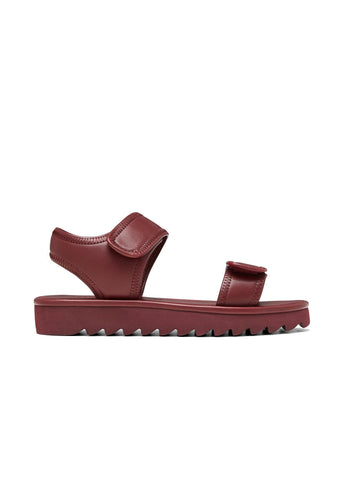KYRA // GRACIE women's vegan sandal by Twoobs - burgundy - Vegan Style