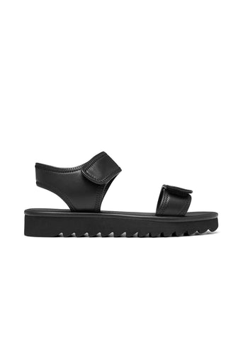 FERN // LEIGH women's vegan sandal by Twoobs - black - Vegan Style