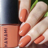 'Flame Trees' Soft Coral Orange Nail Polish (15ml) by Hanami Cosmetics - Vegan Style