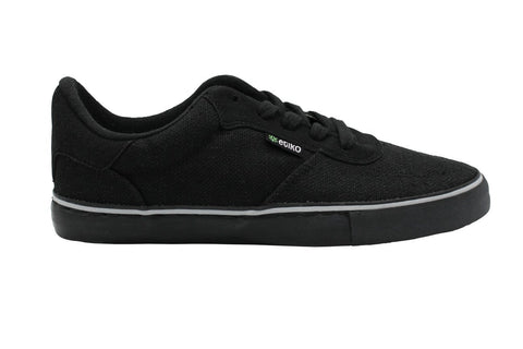 Hemp Sneakers by Etiko - Black - Vegan Style