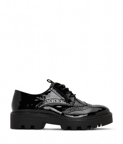 'Itza' Women's Vegan Oxford Shoe by Matt and Nat - Black
