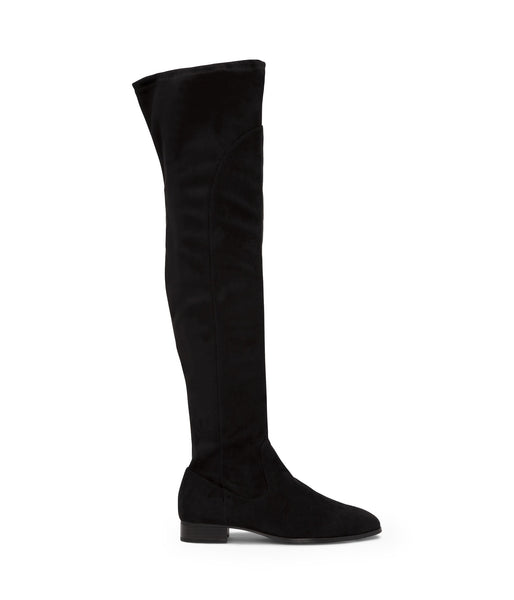 'Kallya' Vegan Over The Knee Boots by Matt and Nat - Black