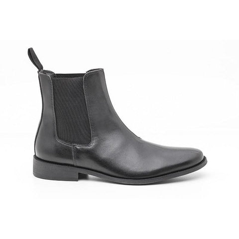 'George' Chelsea Boots (Black) by Ahimsa