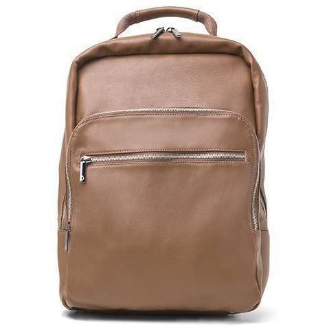 Ahimsa Bags - 'Berlin' vegan backpack (brown) - Vegan Style