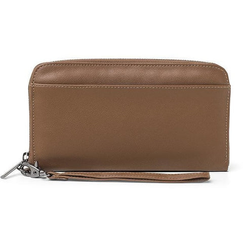 'Stella' vegan wallet by Ahimsa - brown