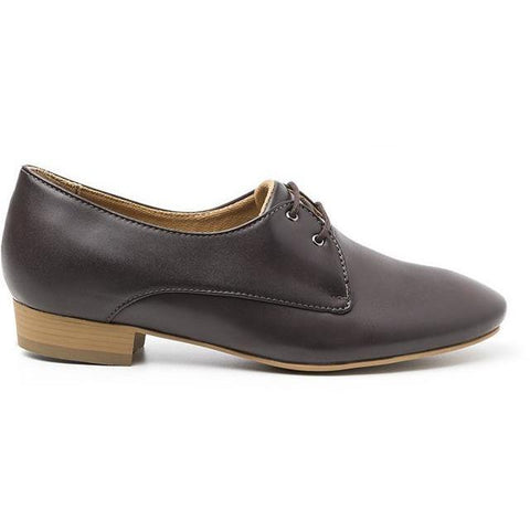 'Claudia' vegan women's Oxford by Ahimsa - brown
