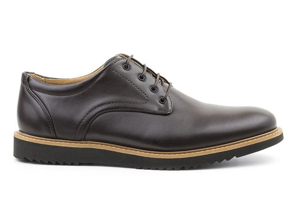 'Charles' Men's Derby  by Ahimsa - brown