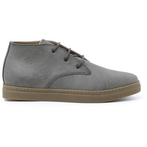 'Adam' Men's High-tops (Grey) by Ahimsa