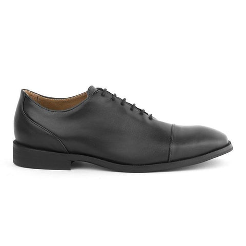 'Richard' Men's classic shoe  by Ahimsa - black