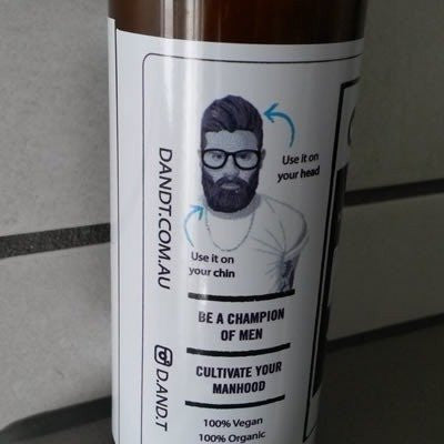 D&T - Man Shampoo - Granite Blend - 125ml - Vegan Style