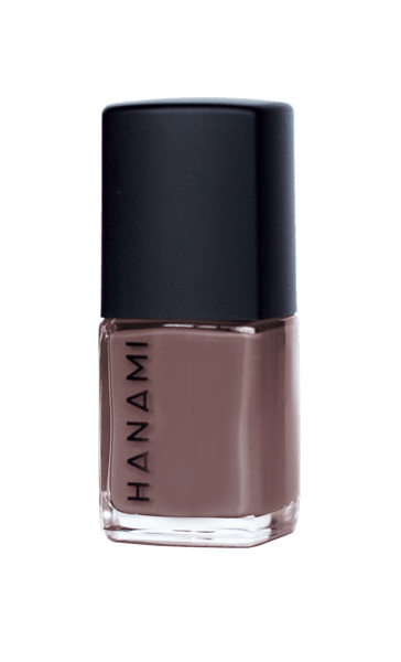 'Stormy Weather' Coffee with Purple Undertones Nail Polish (15ml) by Hanami Cosmetics - Vegan Style