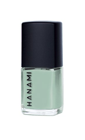 'The Bay' Minty Blue Nail Polish (15ml) by Hanami Cosmetics - Vegan Style