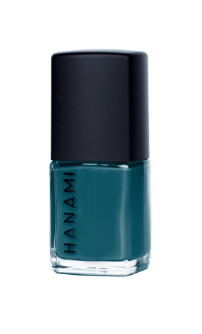 'Night Swimming' Peacock Blue Nail Polish (15ml) by Hanami