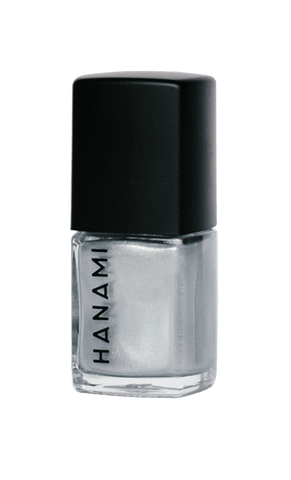 'Reflektor' Silver Chrome Nail Polish (15ml) by Hanami Cosmetics - Vegan Style