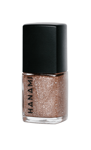 'Dancing On My Own' Sparkly Copper Gold Glitter Nail Polish (15ml) by Hanami Cosmetics